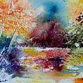 Watercolor 140908 by Pol Ledent