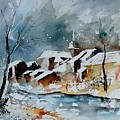 Watercolor  190607 by Pol Ledent
