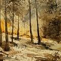 Watercolor  191106 by Pol Ledent