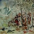 Watercolor 200307 by Pol Ledent