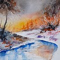 Watercolor 200308 by Pol Ledent