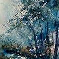 Watercolor  220907 by Pol Ledent