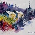 Watercolor 231207 by Pol Ledent