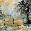 Watercolor  261006 by Pol Ledent
