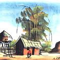 Watercolor 45 by Chrisfold Chayera