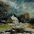 Watercolor  900111 by Pol Ledent