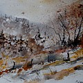 Watercolor 900140 by Pol Ledent
