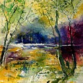 Watercolor  908010 by Pol Ledent