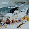 Watercolor  9090723 by Pol Ledent