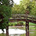 Watercolor Arched Bridge 2715 W_2 by Steven Ward