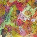 Watercolor Autumn by D Hackett