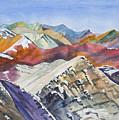 Watercolor - Colorado Elk Range View by Cascade Colors