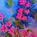 Watercolor Flowers by Kathleen Sartoris