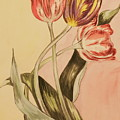 Watercolor Flowers by Michelle Miron-Rebbe