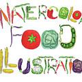 Watercolor Food Illustration  by Irina Sztukowski