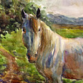 Watercolor Horse by Svetlana Novikova