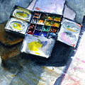 Watercolor Pallet by John D Benson