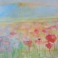 Watercolor Poppies by Julie Lueders