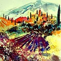 Watercolor  Provence 07 by Pol Ledent