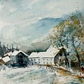 Watercolor Sechery 1207 by Pol Ledent