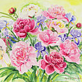 Watercolor Series 153 by Ingrid Dohm