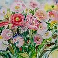 Watercolor Series No. 258 by Ingrid Dohm