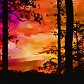 Watercolor Sunrise by Judi Bagwell