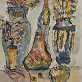 Watercolor Test  Seven by Edward Wolverton
