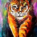 Watercolor Tiger by Hae Kim