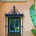 Watercolor Window by Susan Molnar