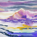 Watercolor - Winter Arctic Impression by Cascade Colors