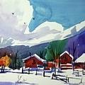 Watercolor_3483 by Ugljesa Janjic