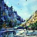 Watercolor3810 by Ugljesa Janjic