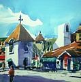 Watercolor3823 by Ugljesa Janjic