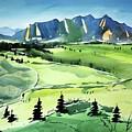 Watercolor4509 by Ugljesa Janjic