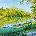 Watercolors At The Lake by Debra and Dave Vanderlaan
