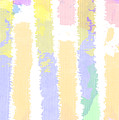 Watercolour Abstract Strips 2 by Keshava Shukla