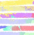 Watercolour Abstract Strips by Keshava Shukla