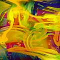 Watercolour Abstract by Svetlana Sewell