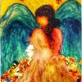 Watercolour Angel by Christine Paris