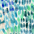 Waterfall 2- Abstract Art By Linda Woods by Linda Woods