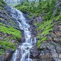 Waterfall Below The Garden Wall by Blake Passmore
