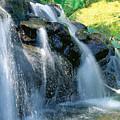 Waterfall Close-up by Bill Brennan - Printscapes