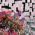 Waterfall Flowers 2 by Tim Allen
