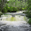 Waterfall In Cradle Mountain by Rob D