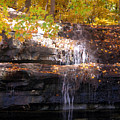 Waterfall In Creve Coeur by John Lautermilch