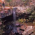 Waterfall In Fall - 1 by Randy Muir