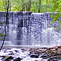 Waterfall In Gladwyne by Bill Cannon