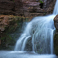 Waterfall In Horton Creek by Dave Dilli