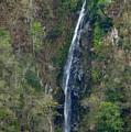 Waterfall In The Intag 2 by Teresa Stallings